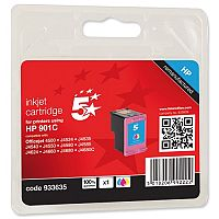 HP Compatible 901 Colour Inkjet Cartridge CC656AE 5 Star