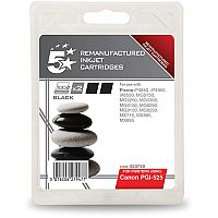 Canon PGI-525 PGBK ( 4529B010 Equivalent ) Pigment Black Ink Cartridge Compatible/Remanufactured by 5 Star Pack of 2