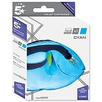 Brother LC985C Compatible Cyan Ink Cartridge 5 Star