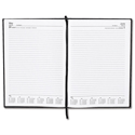 5 Star 2014 Diary Day to Page Saturday and Sunday Separate 70gsm W210x297mm A4 Black