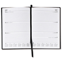 5 Star 2014 Diary Week to View Full Week on Two Pages 70gsm W148xH210mm A5 Red