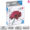 HP Compatible 88 Magenta Inkjet Cartridge C9387A 5 Star