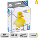 HP Compatible 88 Yellow Inkjet Cartridge C9388A 5 Star