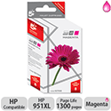 HP Compatible 951XL Magenta Inkjet Cartridge CN047AE 5 Star