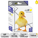 HP Compatible 951XL Yellow Inkjet Cartridge CN048AE 5 Star