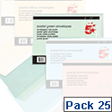 Coloured Envelopes pack 25