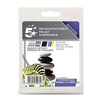 Brother LC1280XL Compatible 4 Colour Value Pack Inkjet Cartridges 5 Star