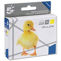 Epson T1804 Compatible Yellow Daisy Series Inkjet Cartridge 5 Star C13T18044010