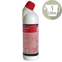 5 Star Thick Bleach Citrus Disinfectant Freshener Cleaner 1L Pack 1