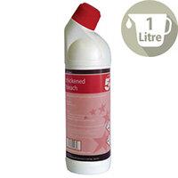 5 Star Thick Bleach Citrus Disinfectant Freshener Cleaner 1L Pack 1