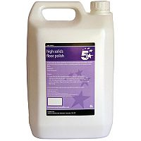 5 Star High Solids Floor Cleaning Polish 5L