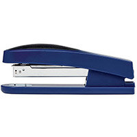 5 Star Office Stapler Full Strip Rubber Body Capacity 25 Sheets Blue