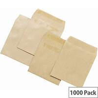5 Star Office Wage Envelopes Manilla 108 x 102mm  Pack 1000