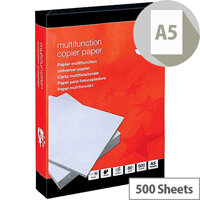 5 Star Office 80gsm A5 Paper  500 Sheets