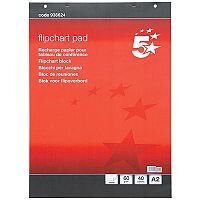 5 Star Flipchart Pads A2 [Pack of 6] 938624