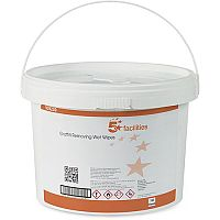 5 Star Facilities Wet Wipes Graffiti Removing Pack 1 (Bucket of 150 Sheets)