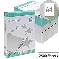 5 Star Lite A4 Copier Paper Multifunctional White 5 x 500 Sheets