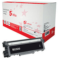 5 Star Office Remanufactured Brother TN-2320 Black Yield 2,600 Pages Laser Toner Cartridge Ref 942259