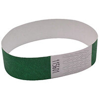 Announce Wrist Bands 19mm Green AA01834