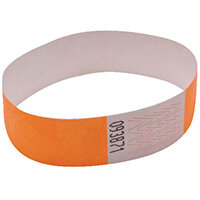 Announce Wrist Bands 19mm Orange AA01836