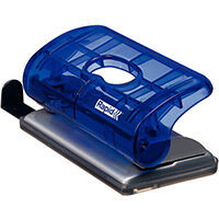 Rapid Mini Hole Punch FC5 10 Sheets Blister Pack Transparent Blue