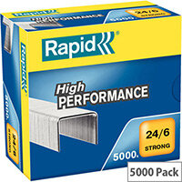 Rapid Strong Staples 24/6mm 5M G Strong