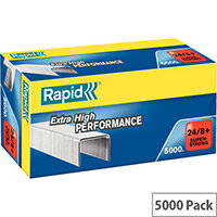 Rapid SuperStrong Staples 24/8+ 5M G