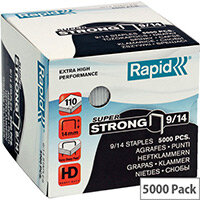 Rapid SuperStrong Staples 9/14mm 5M G