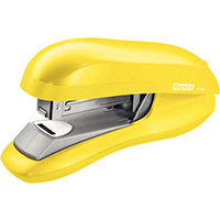 Rapid Desktop Flat Clinch Halfstrip Stapler F30 Yellow