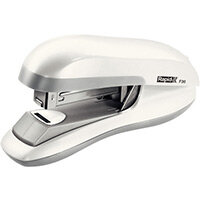 Rapid Desktop Flat Clinch Halfstrip Stapler F30 White