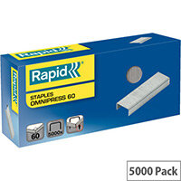 Rapid Omnipress 60 Staples Pack of 5000