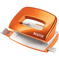Leitz New NeXXt WOW Mini Hole Punch Metallic Orange