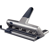 Leitz AKTO Variable Multi Hole Punch 3mm Silver