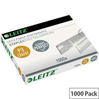 Leitz Power Performance P3 Staples 26/6 Pack of 1000