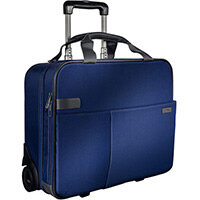 Leitz Complete Carry-On Trolley Smart Traveller Titan Blue