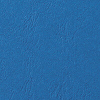 GBC LeatherGrain Binding Covers A4 Blue Pack of 100