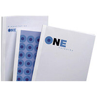 GBC Standard Thermal Binding Covers A4 8mm White Pack of 100