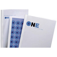 GBC Standard Thermal Binding Covers A4 15mm White Pack of 50