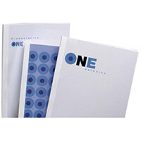 GBC Standard Thermal Binding Covers 20mm White Pack of 50
