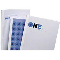 GBC Standard Thermal Binding Covers A4 12mm White Pack of 100
