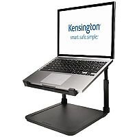 "Kensington SmartFit Laptop Riser – Black, For Laptops Up To 15.6"", Anti-Skid, Height Adjustable, Cable Management, Security Spot & Extra Space (K52783WW)"