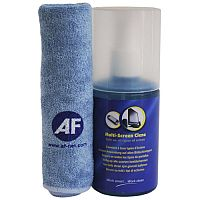 AF Multi Screen Cleaner & Cloth Ref AMCA200LMF