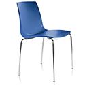 ARI Blue Canteen Stacking Chair