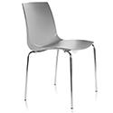 ARI Grey Canteen Stacking Chair