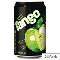 Tango Apple Soft Drink Can 330ml Pack 24 100098