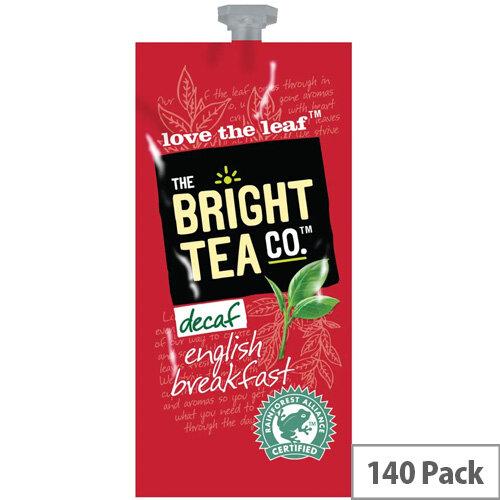Flavia Bright Tea Co English Breakfast Sachets Pack of 140 NWT360