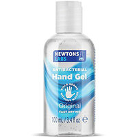 Newtons Labs Antibacterial Hand Gel 100ml Pack of 80 TONEW003
