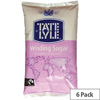 Tate & Lyle Vending Sugar White 2kg Pack of 6
