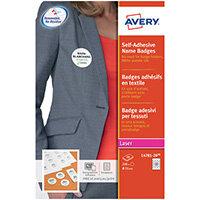 Avery Self-Adhesive Name Badges Pack of 240 L4781-20