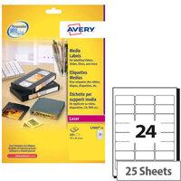 Avery Laser Label L7665-25 (600 Labels)